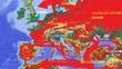 西欧戦況地図