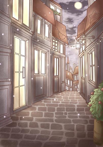 コンテスト応募作品「聖夜の街のサンタ姫」