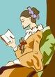 【みんなの名画企画】『読書する女』