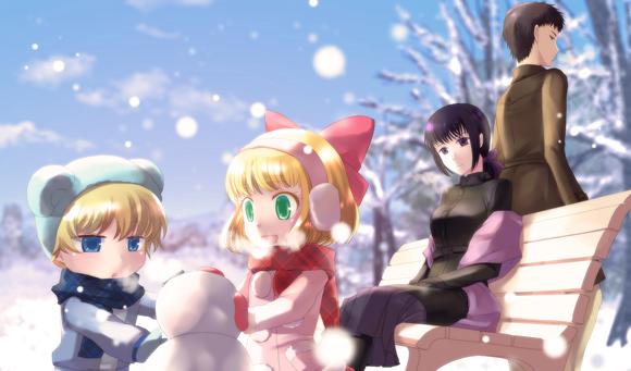 【英雄学園】雪遊び
