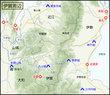 伊賀周辺地図