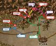 龍児と刀夜 第1章MAP