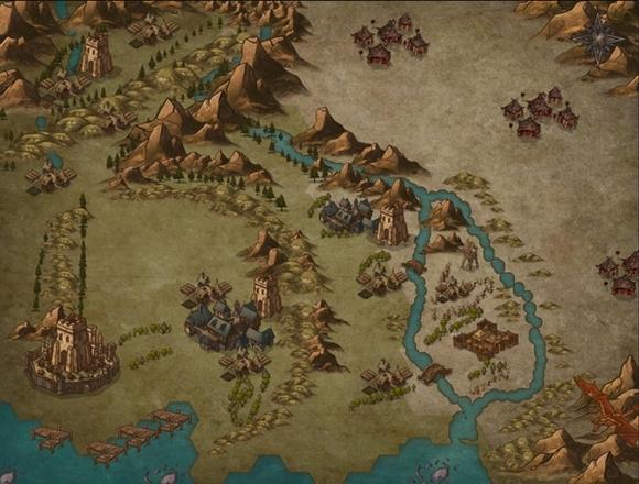 おおざっぱな地図