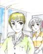 若きバスクッチとミユキ
