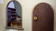 森の喫茶店・窓と扉