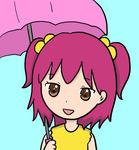 りん子日傘