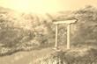 奈半利の門・セピア