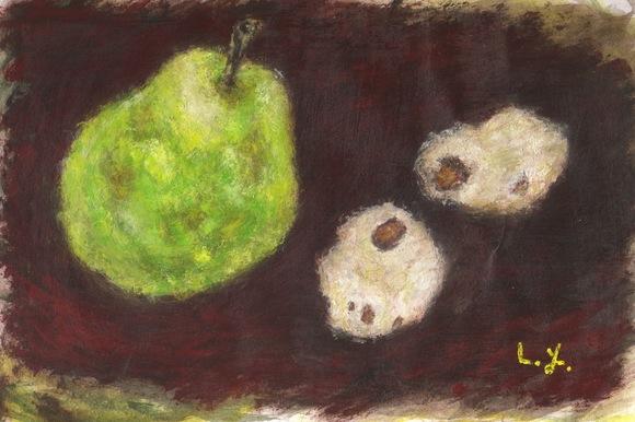 洋梨と土生姜
