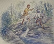 トカゲ釣りに行く