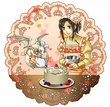 「四竜帝の大陸」ハクちゃんとりこ~ケーキ作り~