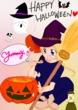 ハロウィン絵♪①