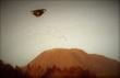 赤毛山のUFO