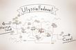 ユリシャ連邦 略地図