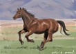 191118  練習絵 馬