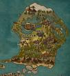 ベルグランデ王国の地図 その1