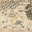 ファンタジー地図の練習 周辺地図① レトロ2