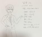 創作子3(オリジナルBL挿絵)