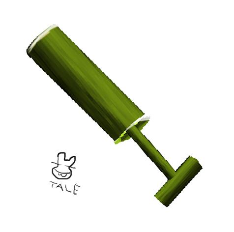はぐるまどらいぶ。竹の水鉄砲。