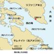 千年巫女の代理人 西の海付近図
