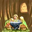 フリーライフ 妖精三姉妹
