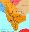 コナハト王国建国時 連合軍進路