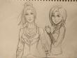 「双顔の魔学師」アリアスとナタリー