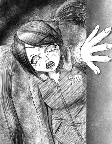 『異世界の姫さまが空から降ってきたとき』第九十一話の挿絵