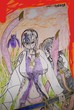王女モドキとアヤメの花