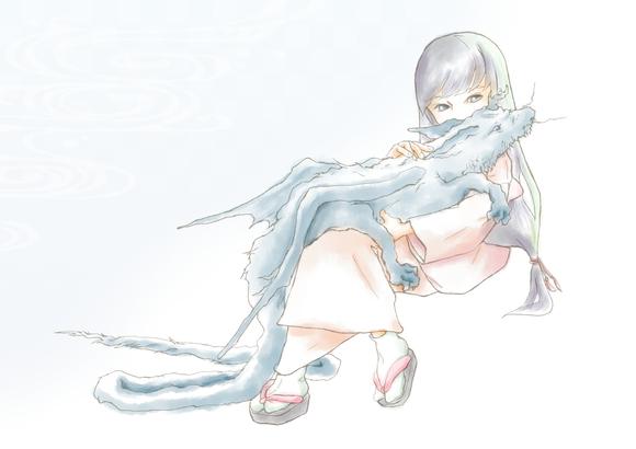 【塗り絵企画Ⅳ】sho-koさんの「たつのこ」versionB