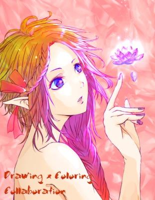 【線画×彩色◆コラボ祭】線画:himmel様