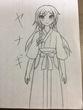 ヤナギ(神子から始めるVRMMO物語の主人公のゲーム内姿)