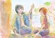九藤朋様へFA「私の妻と、沖田君」