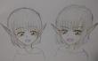 エルフの双子、ミオとミナ。