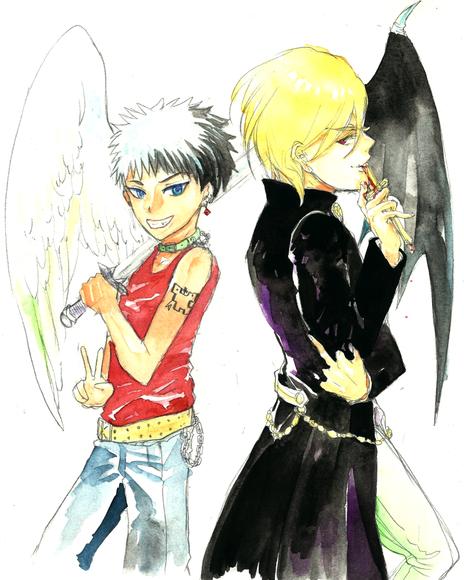 【B×B】少年悪魔と神父