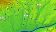 設楽ヶ原の戦い両軍配置図