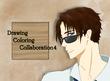 【塗り絵企画Ⅳ】まうす様の線画「メガネ」