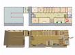 遺跡の町(仮称)・騎士団庁舎(ほぼ完成) 1階・間取り図