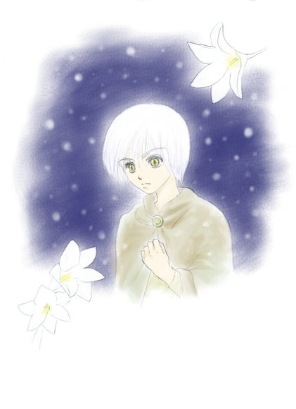 粉雪 ~White Freesia~