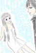 泉の巫女シエラにキメ顔で微笑むユーヤ