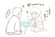 省吾と俊介(おでん・下絵)