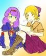 紫苑とイリス