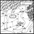 ファンタジー地図の練習 周辺地図①