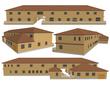 第3章・遺跡の街 騎士団庁舎 外観パース図