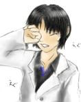 「泣き顔」