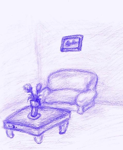 【企画用】花瓶のある個室