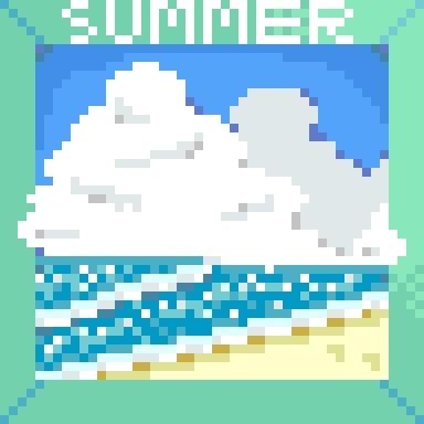 夏のバルサイユ海