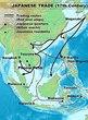 南蛮貿易航路