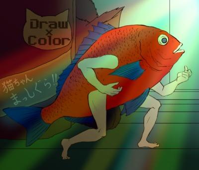 【線画×彩色】こぎつねさんの線画に色塗り!