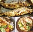 お魚昼食の材料