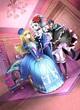 HJノベルス魔法女子学園の助っ人教師5カバーイラスト